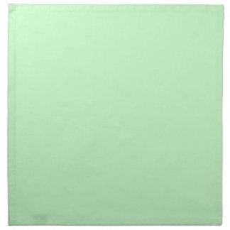 Snowy Mint Green Napkins