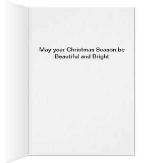 Snowy Mountain Day Christmas Greeting Card