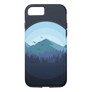 Snowy Mountain Landscape Case