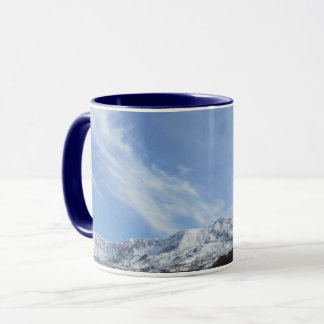 Snowy Mountain Mug Wales.