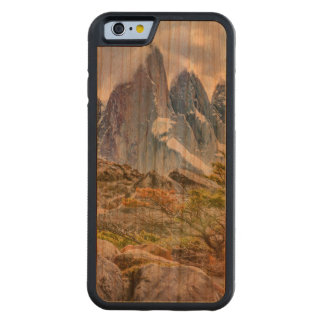 Snowy Mountains at Laguna Torre El Chalten Argenti Carved Cherry iPhone 6 Bumper Case
