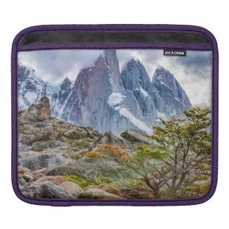 Snowy Mountains at Laguna Torre El Chalten Argenti iPad Sleeve