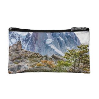 Snowy Mountains at Laguna Torre El Chalten Argenti Makeup Bag