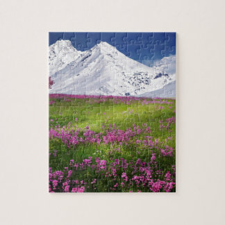 snowy mountains jigsaw puzzle