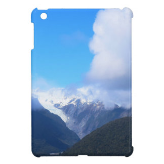 Snowy Mountains, New Zealand Glacier, Aerial View iPad Mini Cases