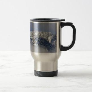 Snowy Mountaintop Trees Travel Mug