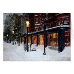 Snowy Newbury Street