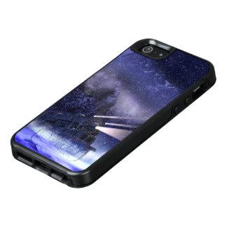 Snowy Night Train OtterBox iPhone SE Case