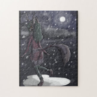 Snowy Nights Jigsaw Puzzle