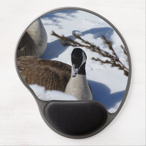 Snowy-nosed Goose Gel Mouse Pad
