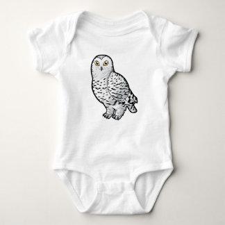 Snowy Owl Baby Bodysuit