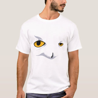 Snowy Owl by Rustyoldtown T-Shirt