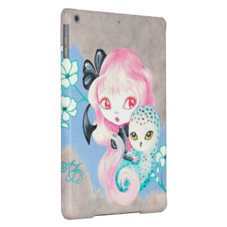 Snowy Owl Friend iPad Air Covers