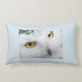 Snowy Owl Lumbar Pillow