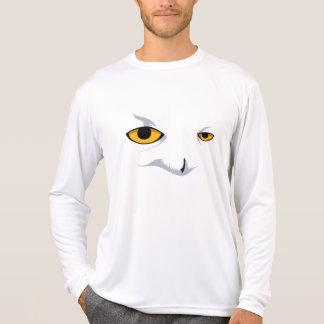 SNOWY OWL Performance Micro-Fiber Longsleeve Tee Shirt