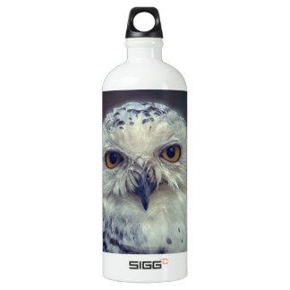 Snowy Owl, Schnee-Eule Water Bottle