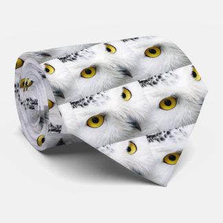 Snowy Owl Tie