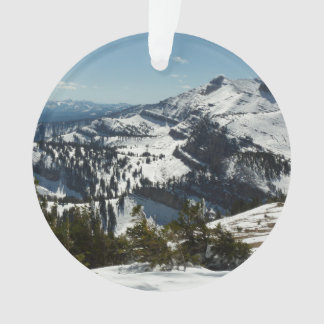 Snowy Peaks of Grand Teton Mountains II Photo Ornament