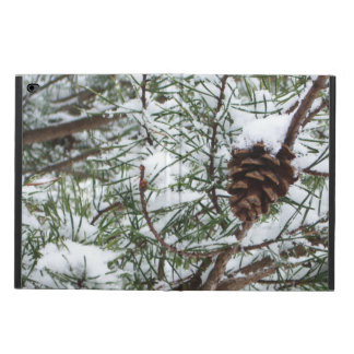 Snowy Pine Cone II Winter Nature Photography Powis iPad Air 2 Case