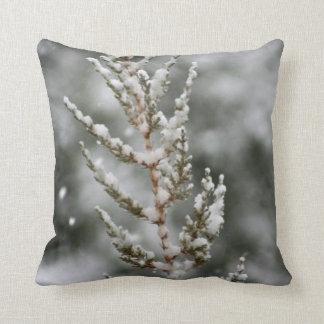 Snowy Plant Pillow