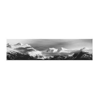 Snowy Prince William Sound Canvas Print