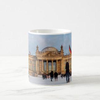 Snowy Reichstag_001.02.2 (Reichstag im Schnee) Coffee Mug