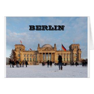 Snowy Reichstag_001.02 (Reichstag im Schnee) Card