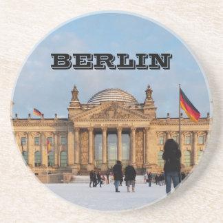 Snowy Reichstag_001.02 (Reichstag im Schnee) Coaster