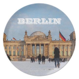 Snowy Reichstag_001.02 (Reichstag im Schnee) Plate