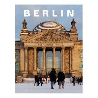 Snowy Reichstag 01.4, BERLIN (Reichstag im Schnee) Postcard