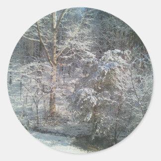 Snowy Stickers