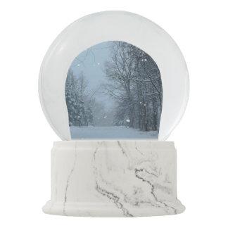 Snowy Street Snow Globes