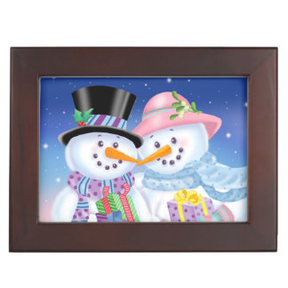 Snowy Sweethearts Trinket Box