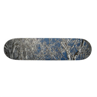 Snowy Tree Board Skate Boards