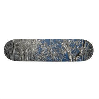 Snowy Tree Board Skate Boards