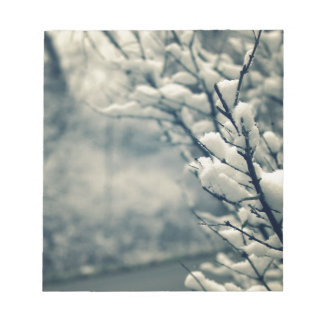Snowy Tree Mouse Pad