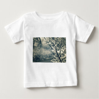 Snowy Tree Mouse Pad Baby T-Shirt