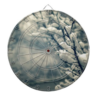 Snowy Tree Mouse Pad Dartboard