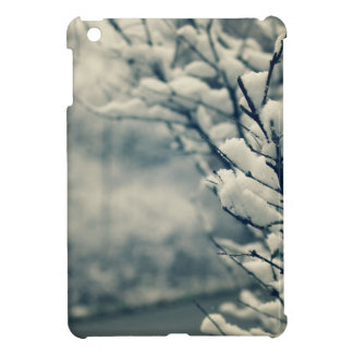 Snowy Tree Mouse Pad iPad Mini Cases