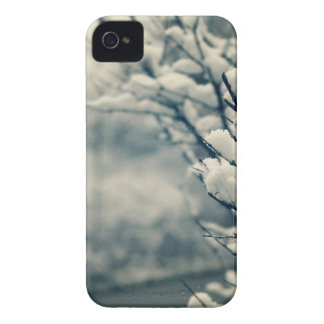 Snowy Tree Mouse Pad iPhone 4 Covers