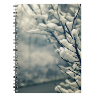 Snowy Tree Mouse Pad Notebooks