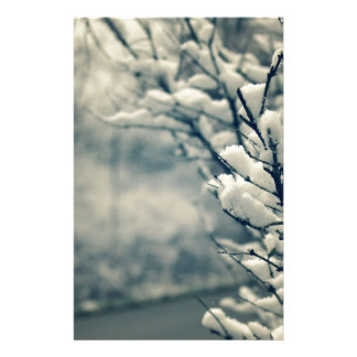 Snowy Tree Mouse Pad Stationery