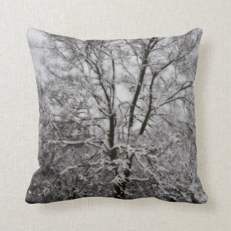 Snowy Trees American MoJo Pillow