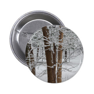 snowy trunks pinback buttons