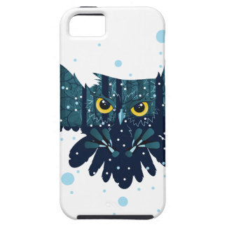 Snowy Winter Forest and Owl 2 iPhone 5 Case