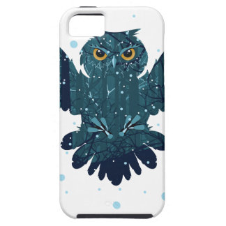 Snowy Winter Forest and Owl iPhone 5 Cover