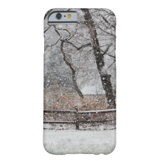 Snowy Winter's Day Barely There iPhone 6 Case