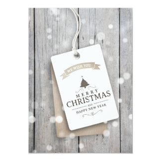 Snowy Wood Business Christmas Card
