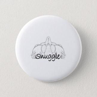Snuggle 6 Cm Round Badge