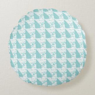 Snuggle_Accents-Blue-Sail's_Home-Decor Round Cushion